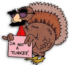 I'm not a turkey