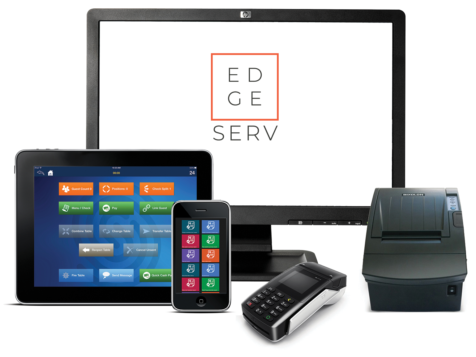 EdgeServ POS - from the Cloud to the Kitchen