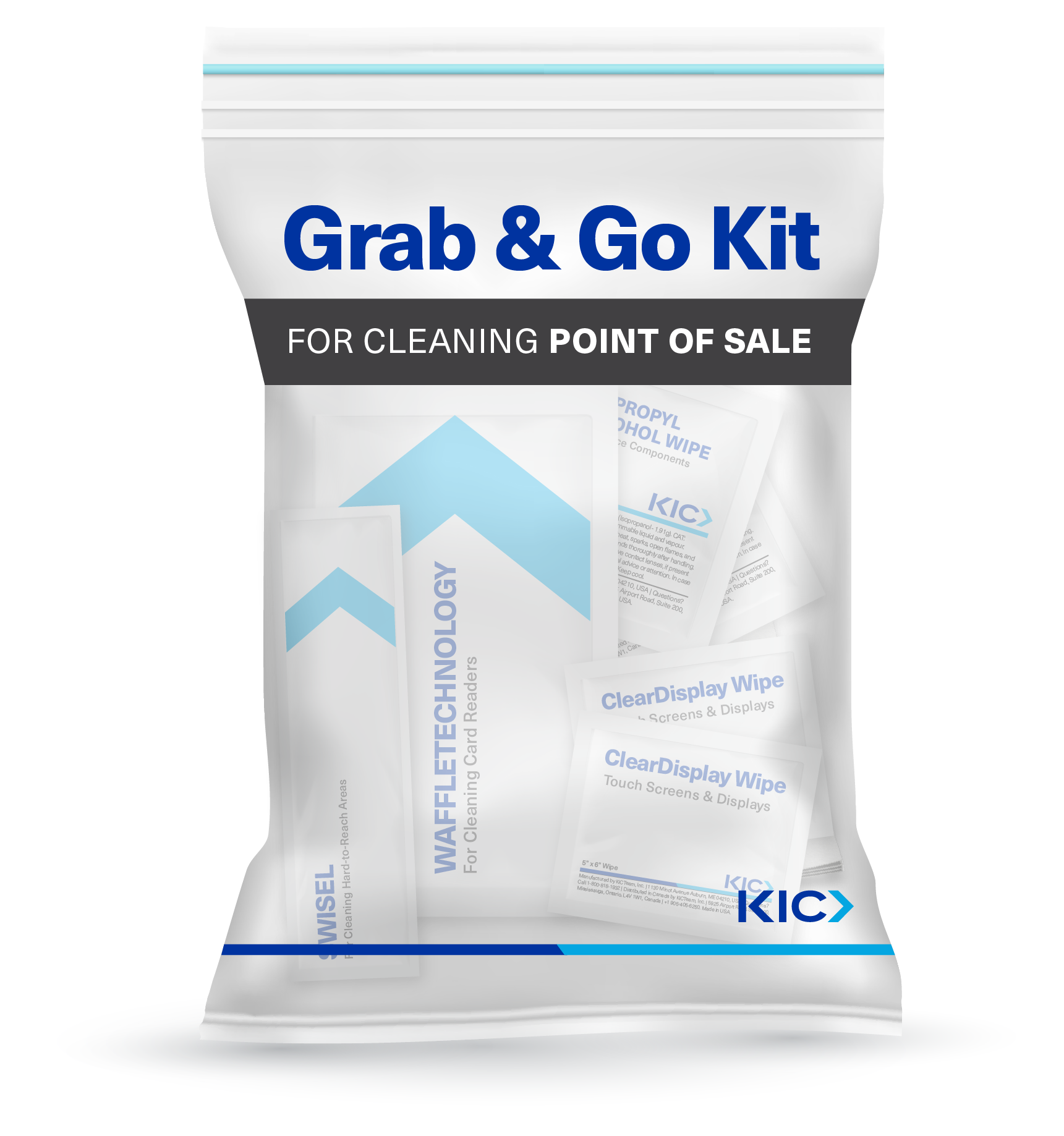 Grab and Go POS Cleaning Kit