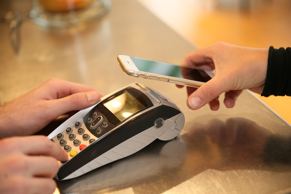 Payment transaction with smartphone-1