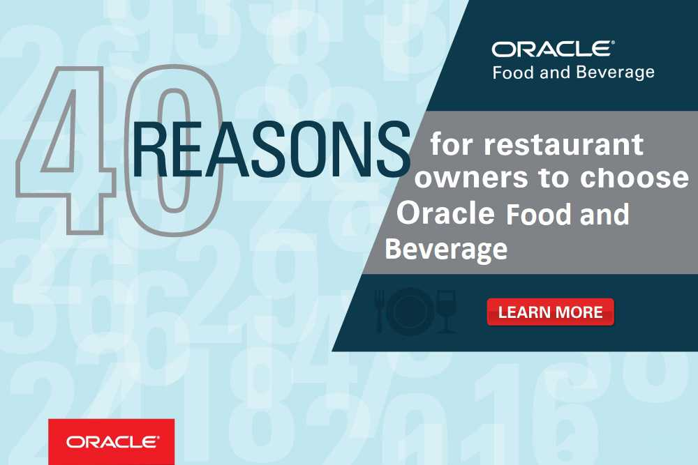 Oracle Food & Beverage - MICROS News